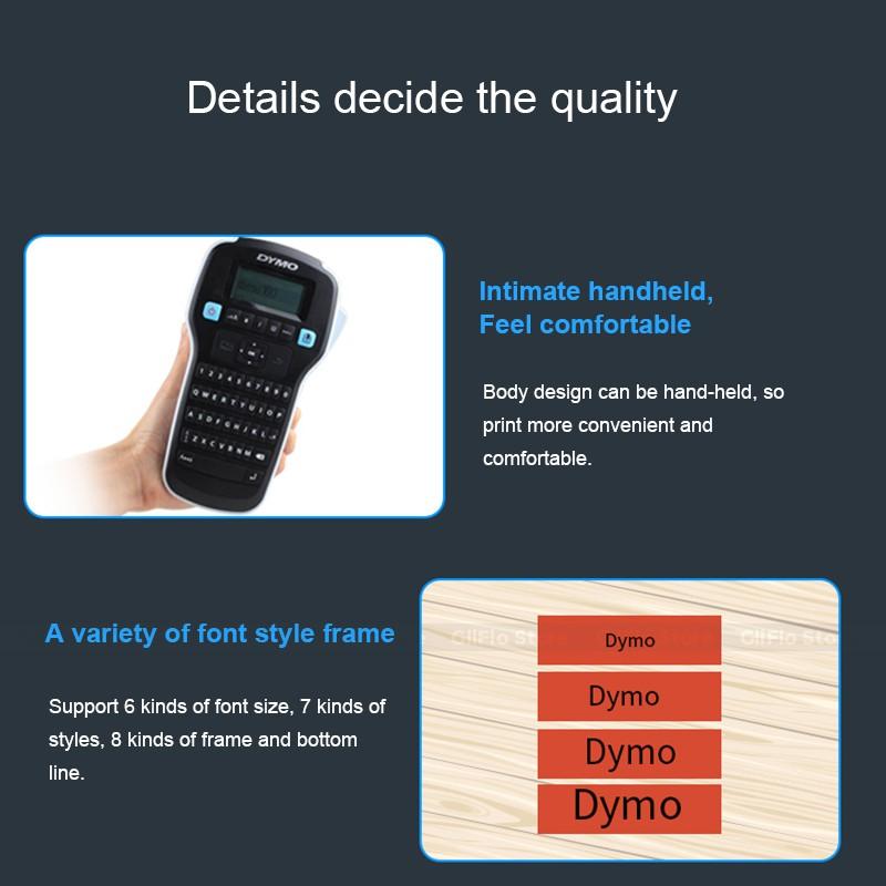 Dymo LMR-160 label printer sticker cable wiring handheld label
