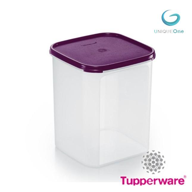 TUPPERWARE MODULAR MATES SQUARE IV(5.5L) FOOD CONTAINER-dewberry(1PCS)
