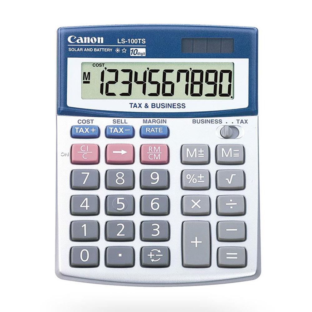 Canon LS-100TS 10 Digits Desktop Calculator