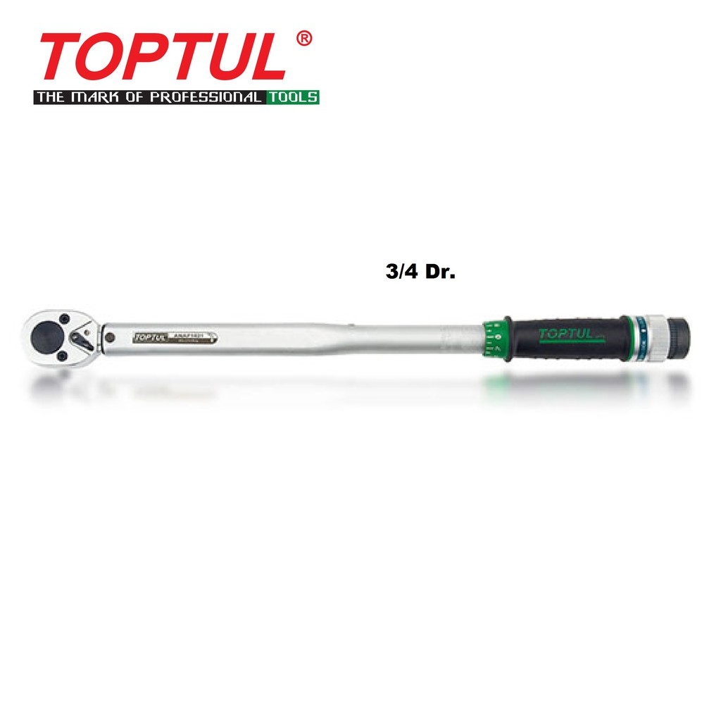 """Toptul 3/4"""" Dr. Torque Wrench 140-980Nm ANAF2498 (Length 1230mm)"""