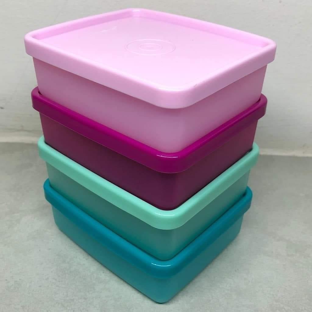 Mini Square Away Tupperware