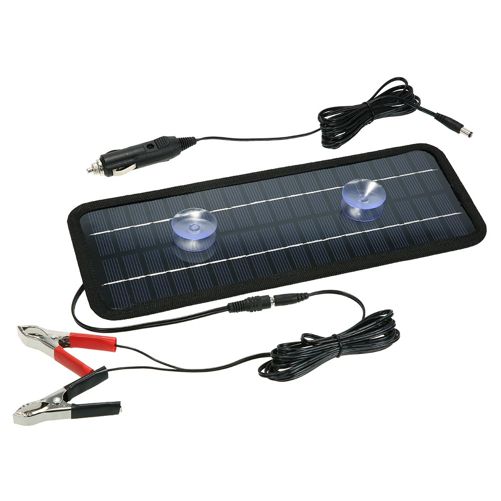 Solar Panel Power Car Boat Battery Charger Backup Outdoor Shopee