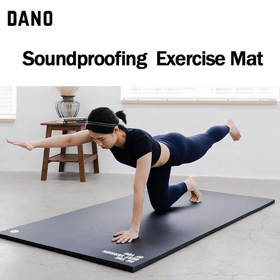 Dano Soundproof Exercise Mat Original/Wide for Home Training Men's Fitness  Equipment Thickened Widened Anti-slip Made in Korea   Shopee Malaysia