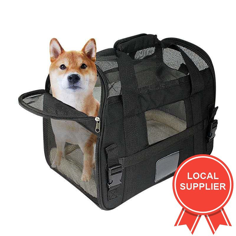 Pet Carrier  Soft Sided for Cats and Dogs Portable Cozy Travel Pet Bag Car Seat Safe Carrier Bag