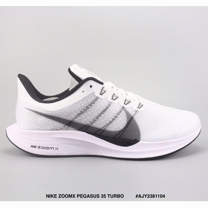 check out c563c 6e7d3 Kasut NIKE ZOOMX PEGASUS 35 TURBO Light Mesh Mesh Running Shoes White   Shopee  Malaysia