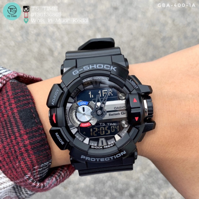 check out f5d48 4cc56 Casio G Shock Bluetooth G'MIX watches GBA-400-1A