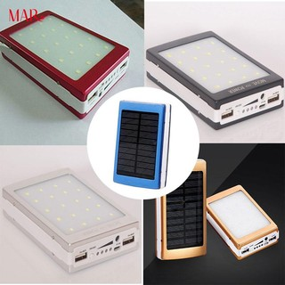Multifunctional Camping LED Light Solar Power Bank Charger