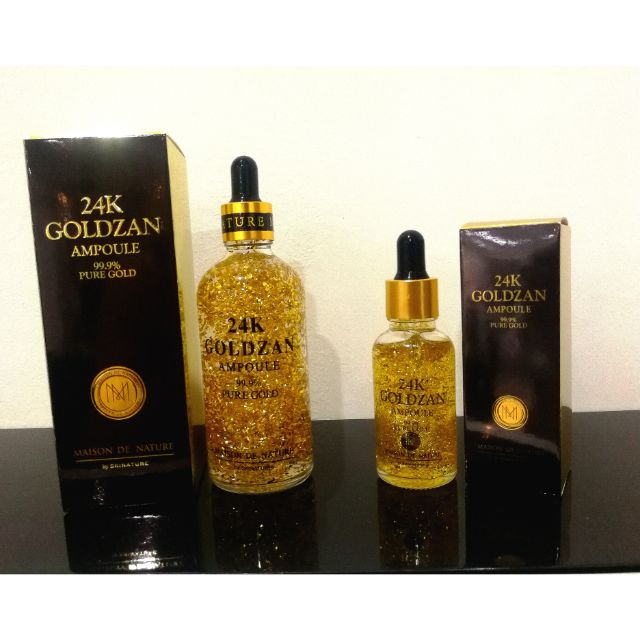 GOLDZAN 24k Gold Serum Ampoule 99% Gold