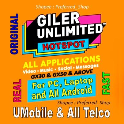 Umobile GX30/GX50 Bypass Unlimited Hotspot
