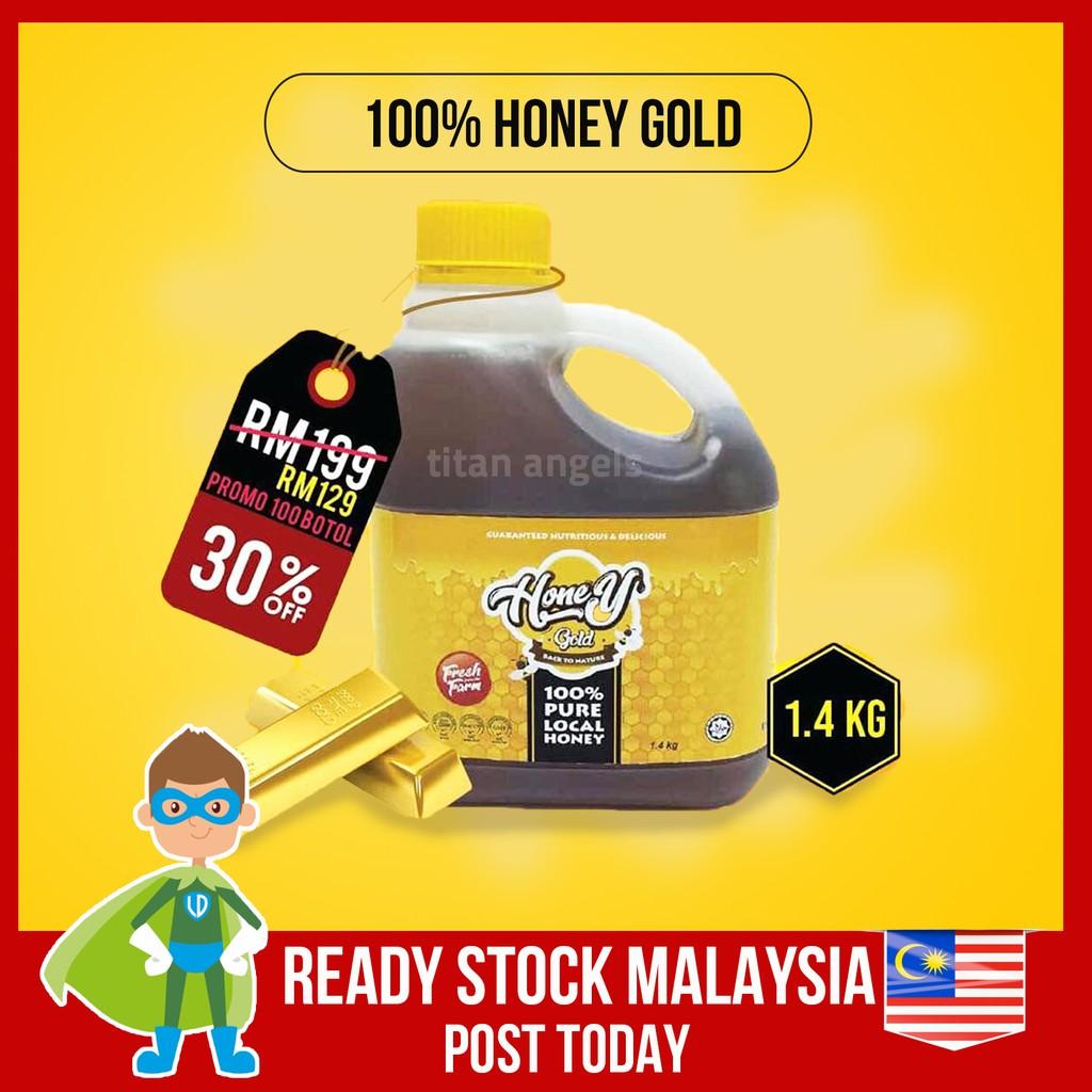 Shuib Honey Gold 1.4kg Madu Lebah Original Honey Bee Factory