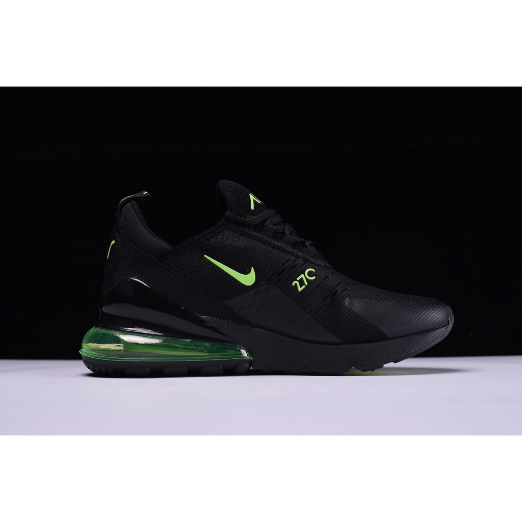 sports shoes 2a37f fc053 cod nike Air Max 270 Black Neon Green