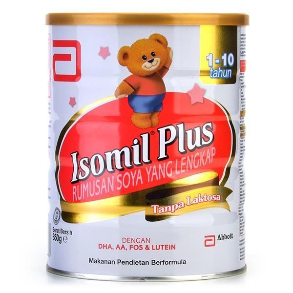 Isomil Plus Soy Milk 1yr+ 850G