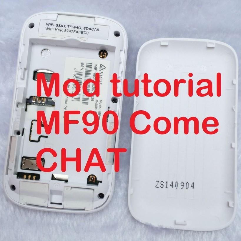 MF90 Mod tutorial E5577 E5573 B310 B315 B618 ZTE HUAWEI