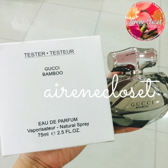 Gucci Bamboo Eau De Perfume 75ml For Women Shopee Malaysia