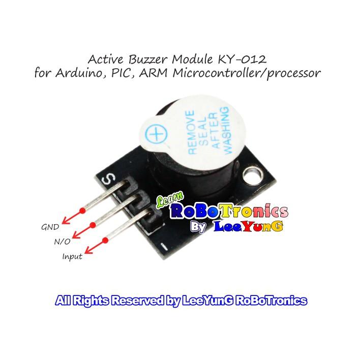 Arduino Active Buzzer Module KY-012