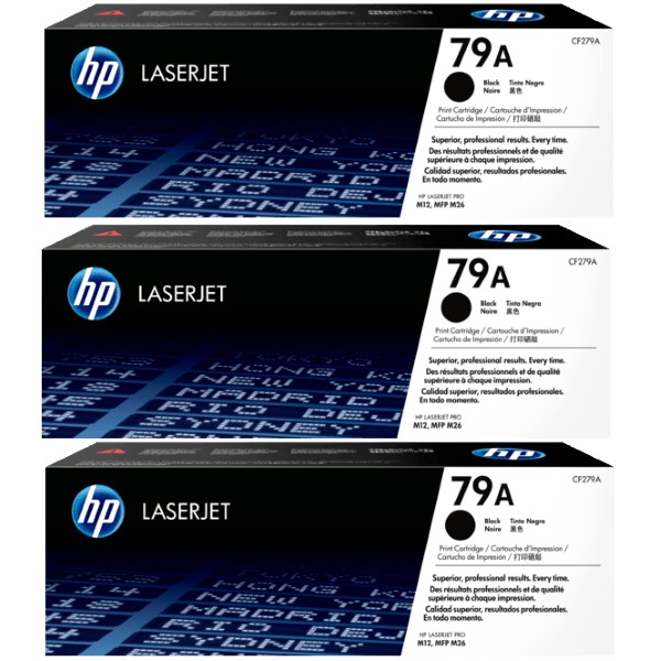 GENUINE HP 79A Black LaserJet Toner Cartridge