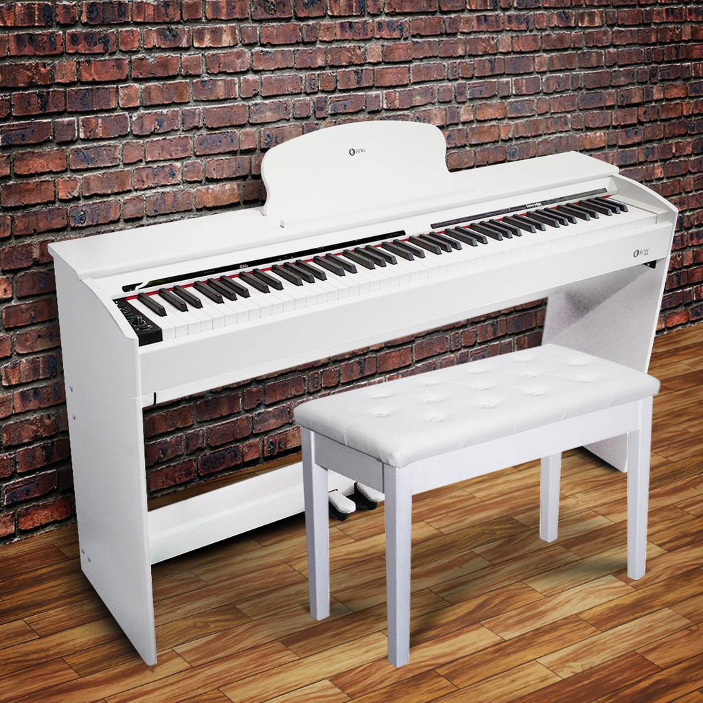 BLW 88 keys Exam Grade Digital Electric Piano Hammer Action Fully Weighted  88 Keys Piano & Stool