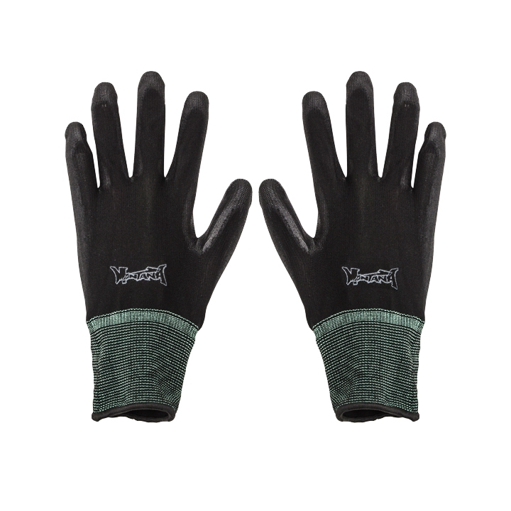 MONTANA NYLON COATED GLOVES REUSABLE PROTECTION GLOVE SIZE LARGE