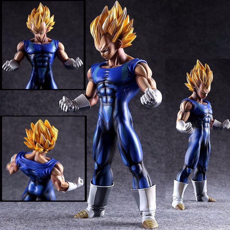 MSP Dragon Ball Z The Vegeta Manga Dimensions PVC Figure Toy Gift