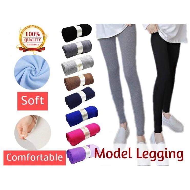 Soft Sport Gym Workout Legging Seluar Panjang Perempuan Yogo Pants Breathable 4color