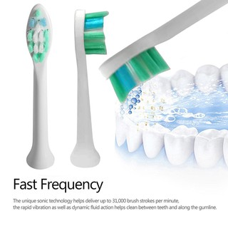 Yoblely.my4pcs Replaceable Electric Toothbrush Heads for Philips/Sonicare/Flexcare | Shopee Malaysia