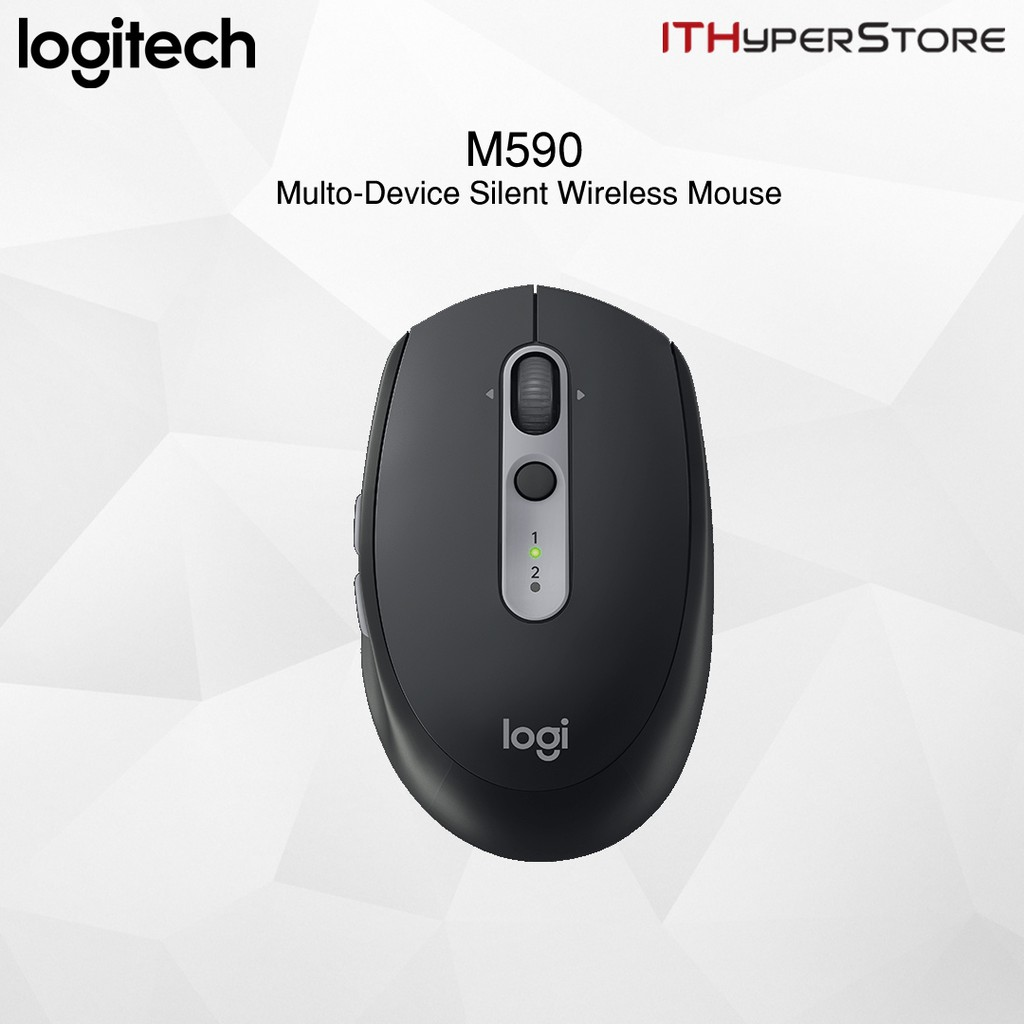 f054703f52d ProductImage. ProductImage. Logitech M590 Silent Wireless Mouse (Multi-device  Silent Bluetooth ...