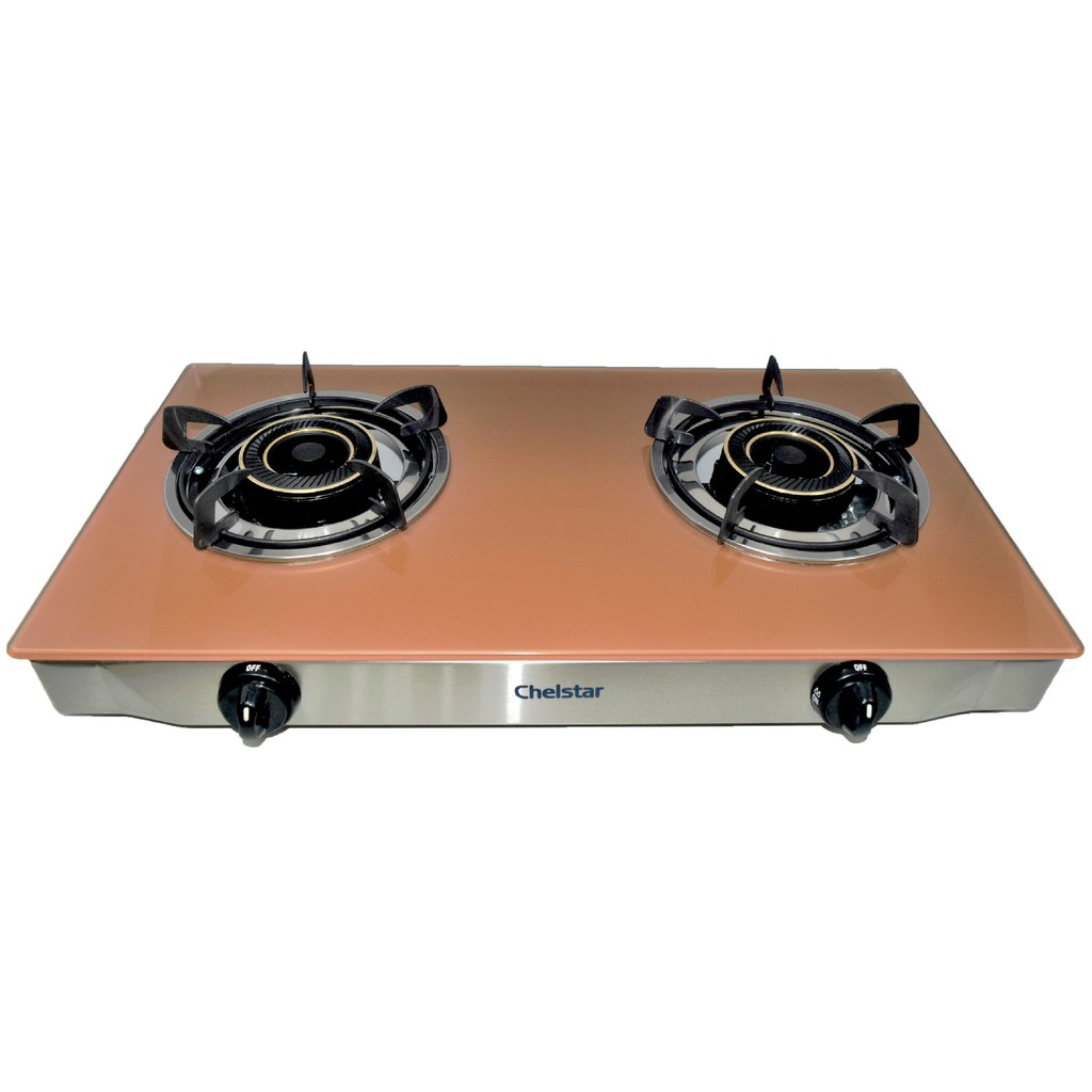 Chelstar Stainless Steel Gl Table Top Gas Cooker Mgt 718 Sho Malaysia