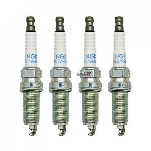 4x Iridium Replacement Spark Plugs 22401-JA01B NGK DILKAR6A11 fits for Nissan