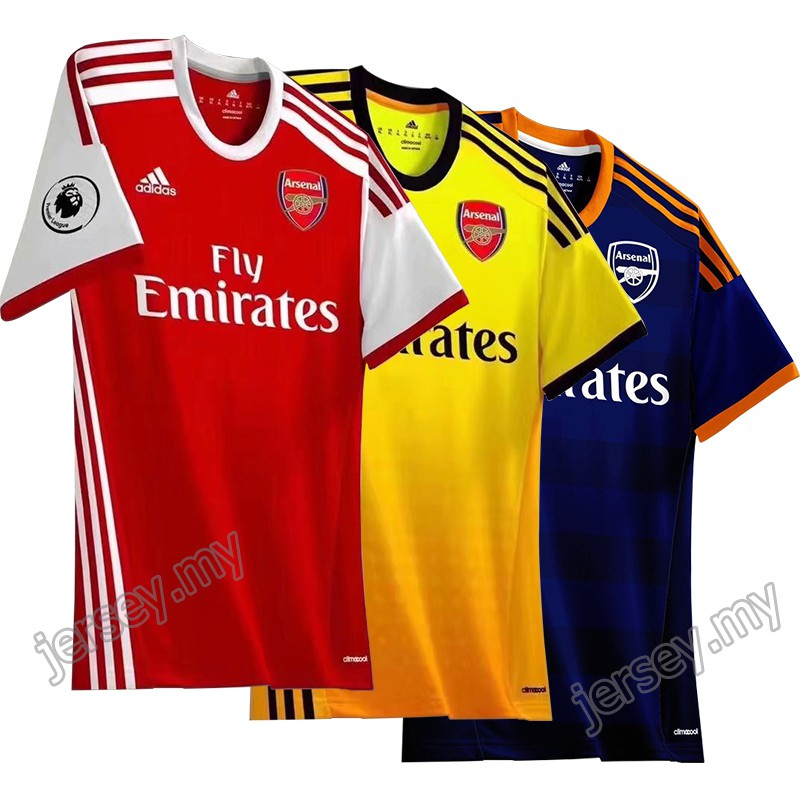 02b30733ec3 Puma Men s Arsenal FC 2015 2016 Away Jersey (747568-08)  C6.1 ...