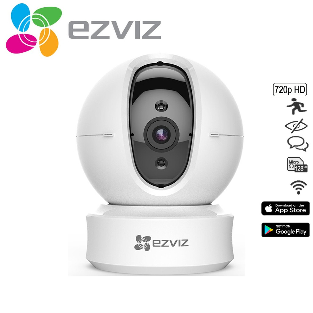EZVIZ C6CN 720P Pan And Tilt Wi-Fi Indoor Cloud CCTV Camera  (CS-CV246-B0-1C1WFR)
