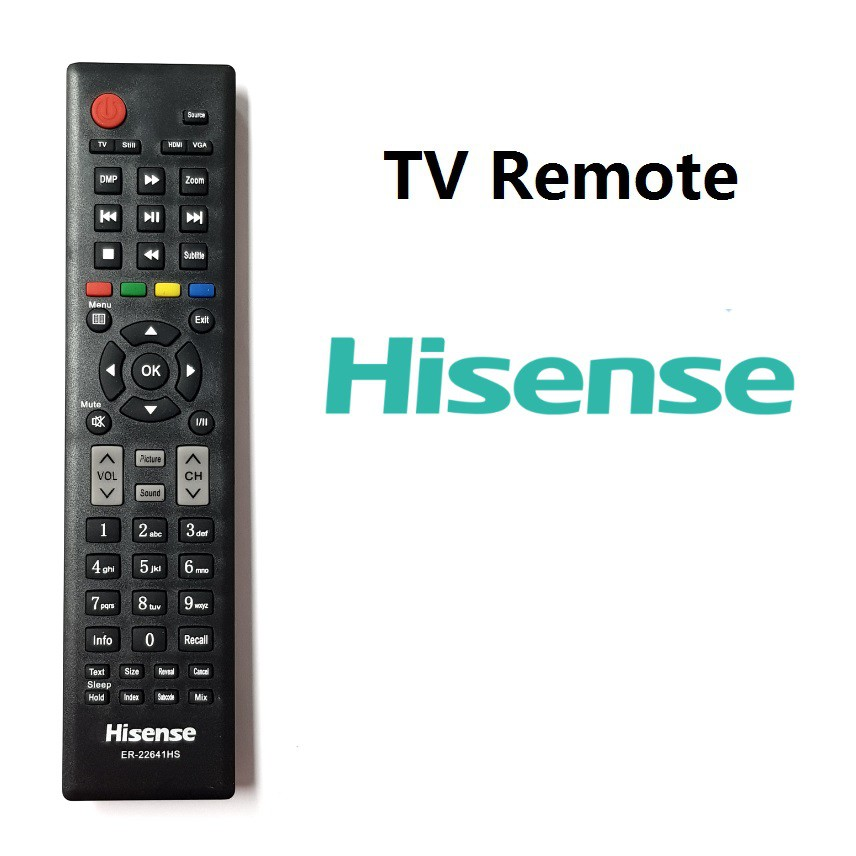 Hisense LED TV remote ER-22641HS