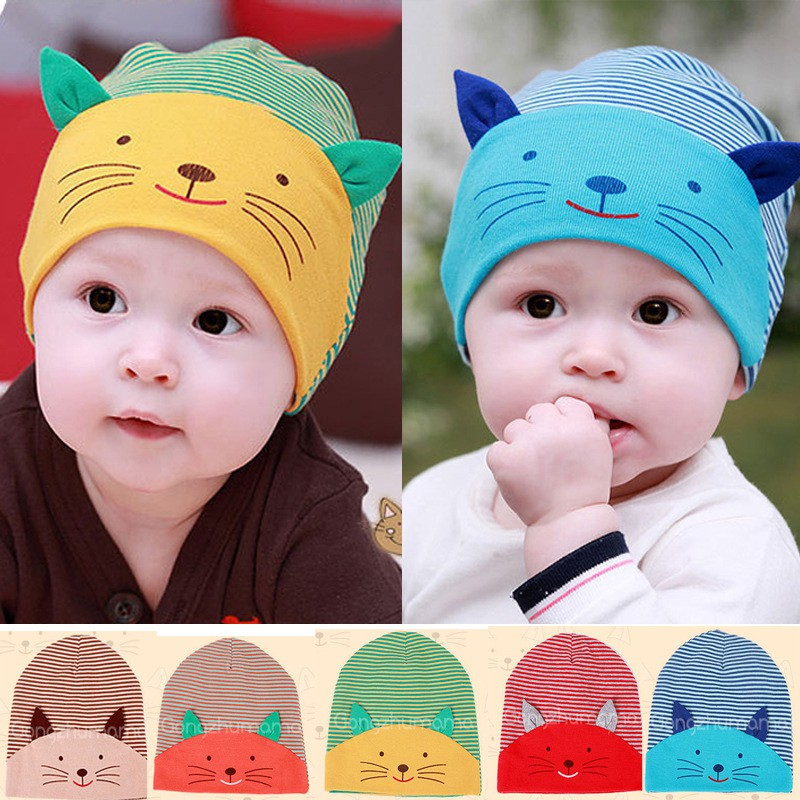 53c1900648b New Tide summer and children cat fisherman s hat
