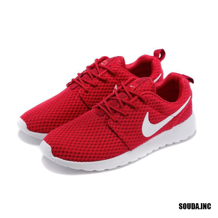 save off 482b2 1e47f Nike Men's and Women's Roshe One BR Running Shoes Large Mesh Red