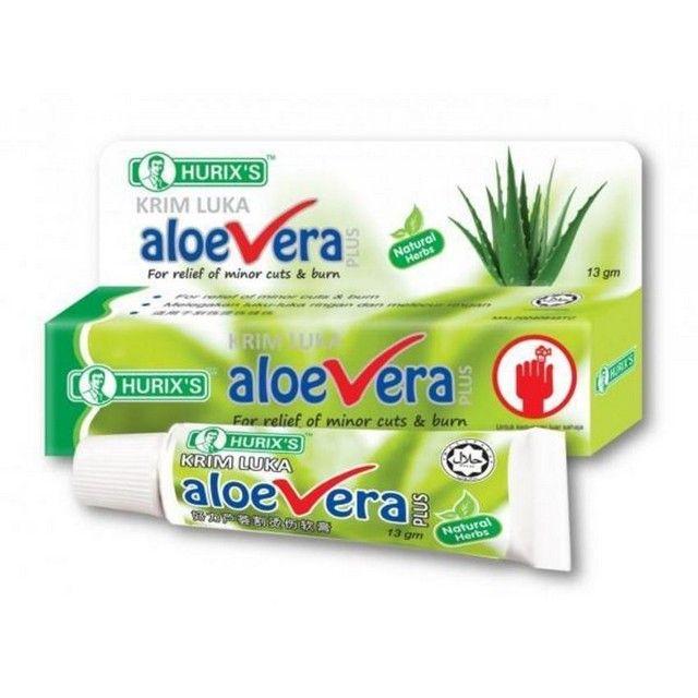 Hurix's Aloe Vera Cream (13g x 2 Tubes)