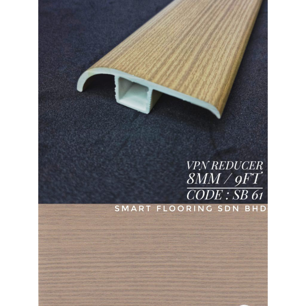 Laminate Flooring Accessories - VPN Reducer (9ft Long) Supply Only
