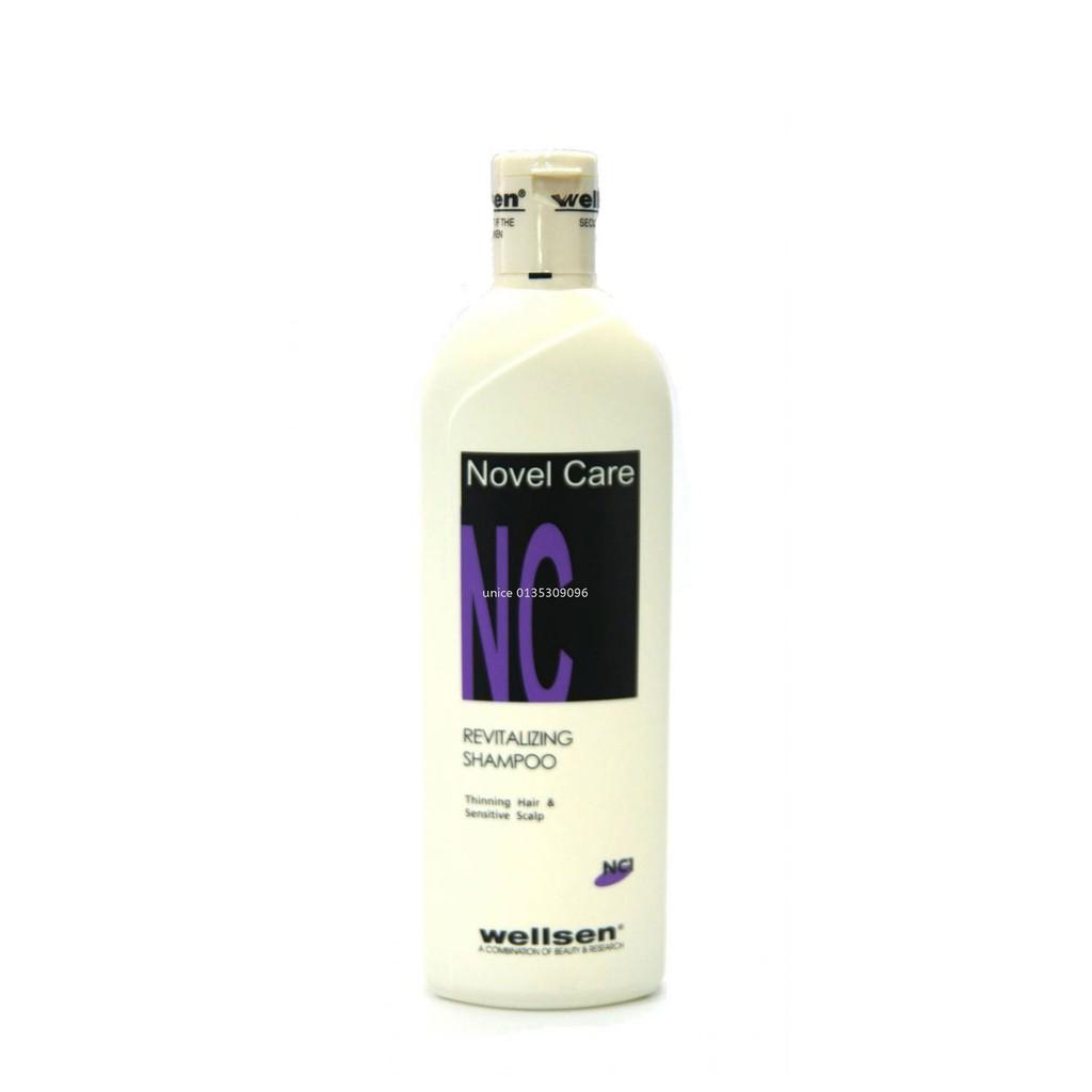 Wellsen Revitalizing Shampoo for Thinning Hair & Sensitive Scalp 400ml