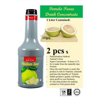 Madam Sun Pomelo Puree Drink Concentrate   Shopee Malaysia