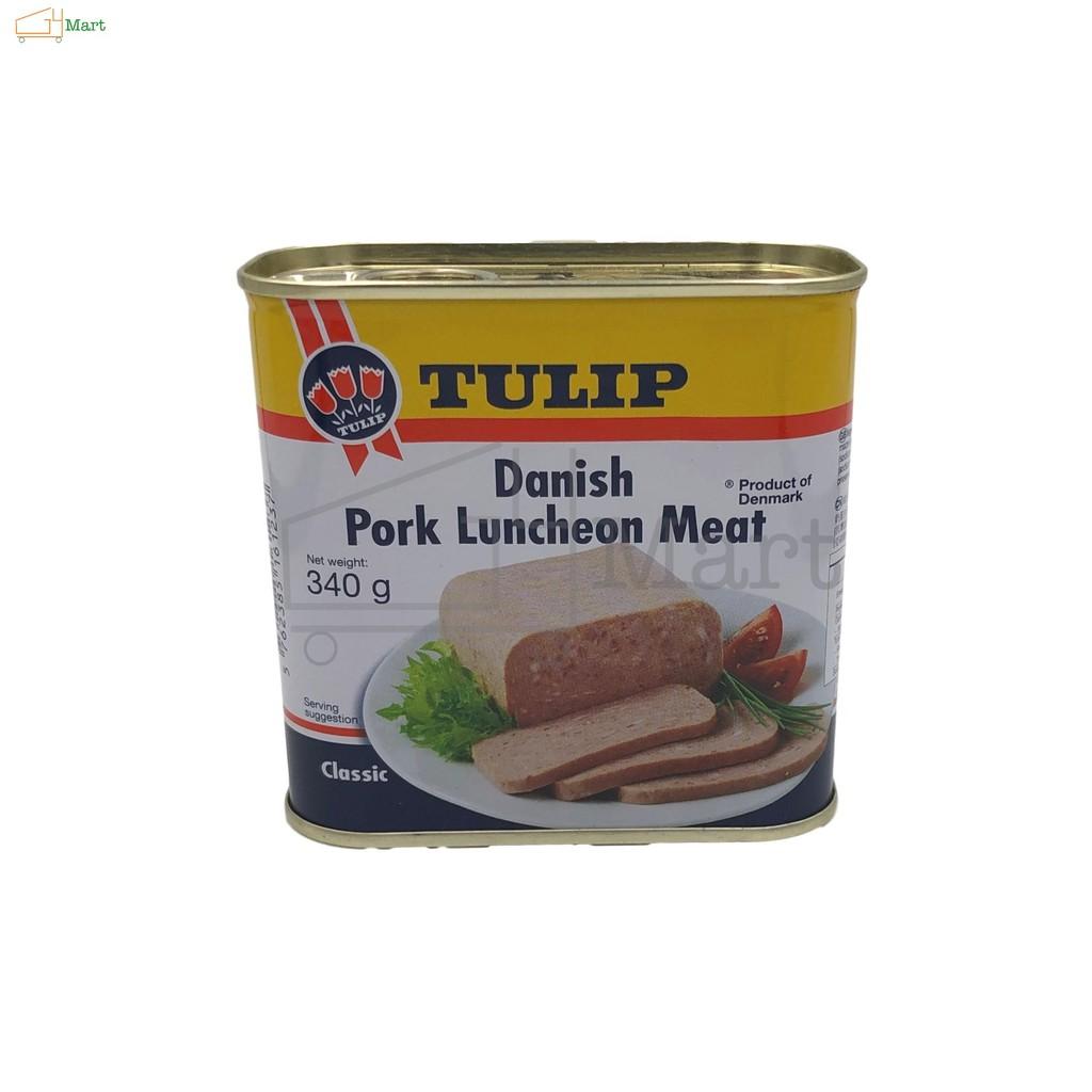 【Danish】Tulip Brand Classic Danish Pork Luncheon Meat 340G 【丹麦】郁金香牌经典午餐肉