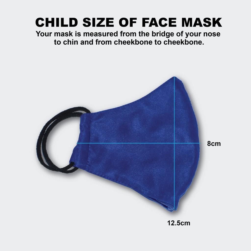 【100% Original】Oren Sport 3 Layer Waterproof Reusable Face Mask