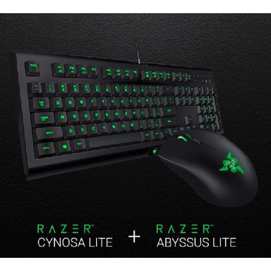 (Genuine Razer Malaysia) Razer Cynosa Lite & Abyssus Lite Bundle Gaming  Keyboard and Gaming Mouse (1 Year Razer Malaysia