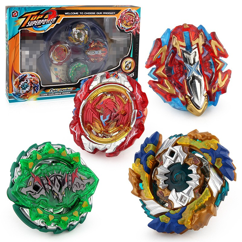 Spot burst gyro toy B122 battle blasting arena 4 in 1 battle gyro set  XD168-11