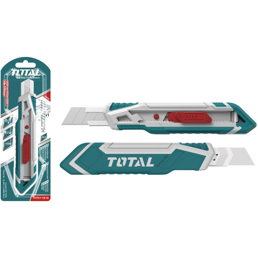TOTAL THT511816 / THT511826 Snap-off Blade Knife