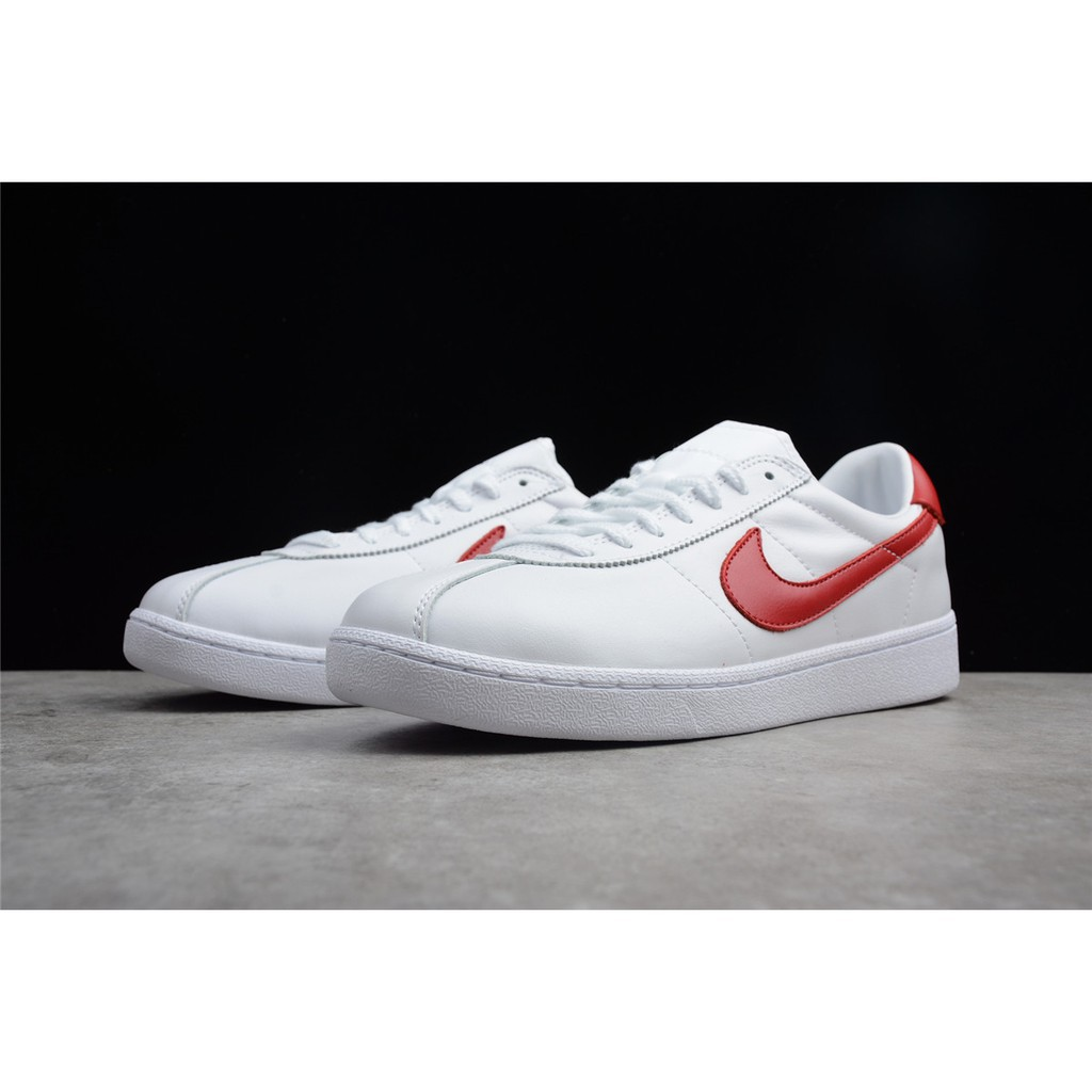 Víspera Experto Apoyarse  real shot】Authentic Nike Bruin Leather back to the future board shoes |  Shopee Malaysia