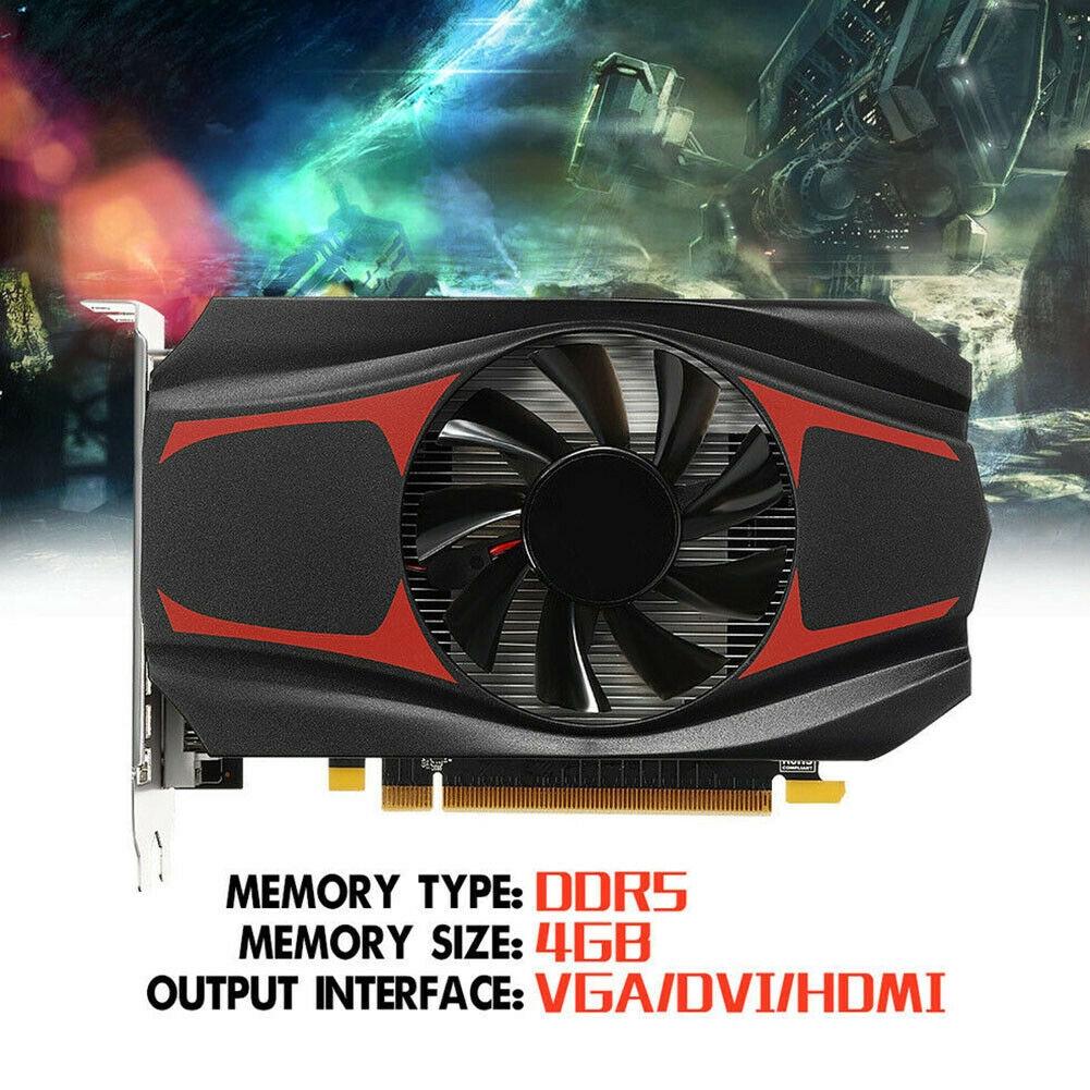 AMD ATI Radeon HD7670 4GB DDR5 128Bit HDMI PCI-Express Video Game Graphics Card