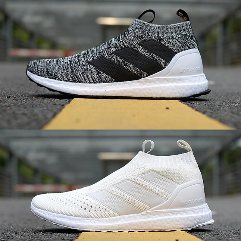 official photos ec80d ec2e0 Original ADIDAS Kith X Ace 16+ PureControl Ultra Boost Sports Shoes Men  Sepatu