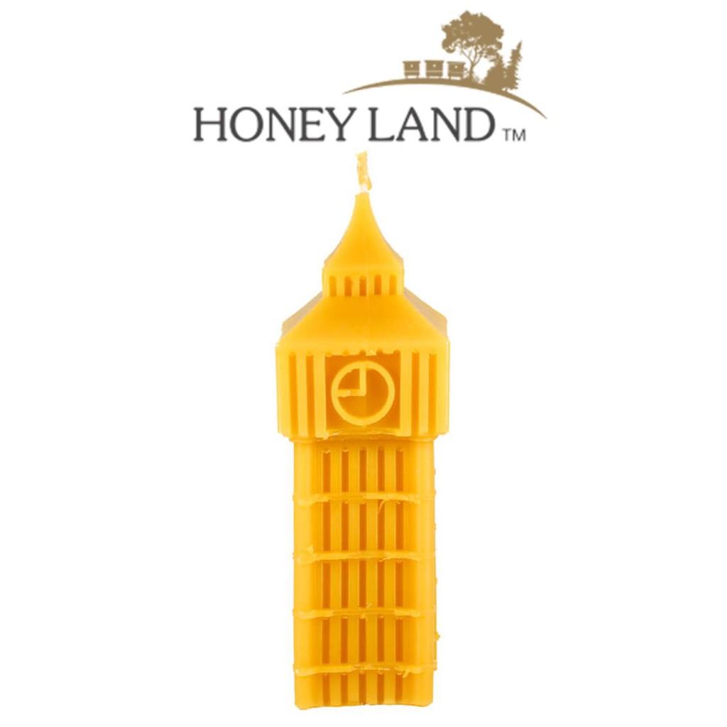 Honey Land™ Beewax Candle – Big Ben Tower (150g) Eco-friendly Gift Home Decor Lilin Hiasan Lebah [GIFT IDEA]