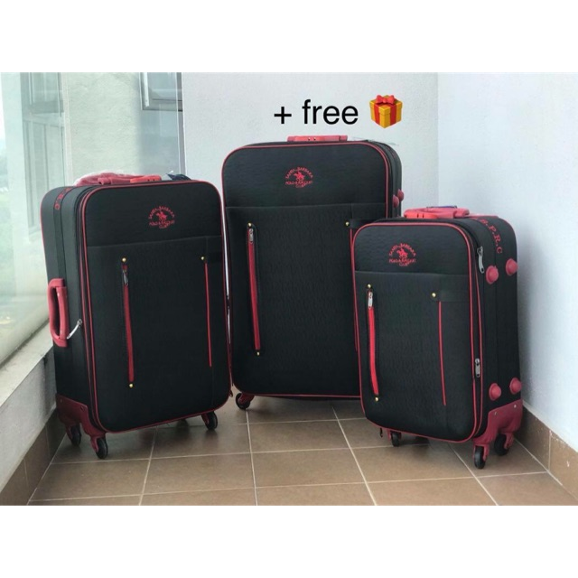 polo luggage - Prices and Promotions - Feb 2019  be1c36ec2a4a6