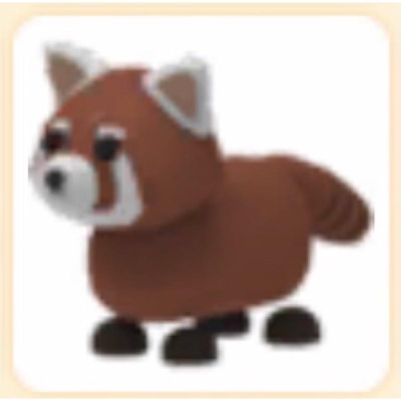 Normal Ultra Rare Red Panda Adopt Me Pet Shopee Malaysia