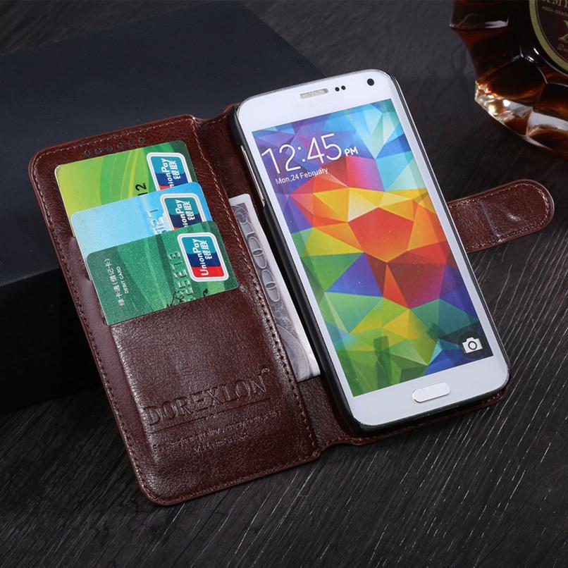 Wallet Leather Case for Alcatel 1C 5009 5009A 5009D 5 3
