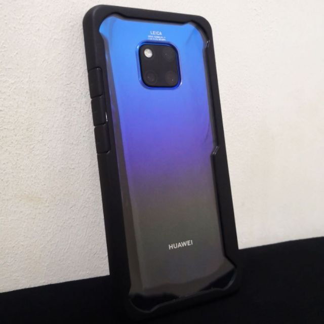 timeless design 39482 ca256 Huawei Mate 20 Pro Shockproof Armor Case Clear Cover